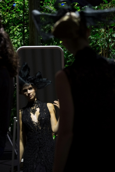 Backstage - Lux Fashion Week - Septembre 2015