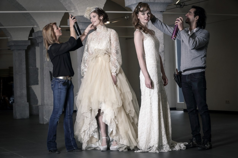 Robe de mariée digaméSi - Backstage shooting